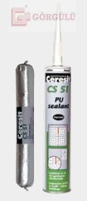 CERESİT CS51 PU İNŞAAT MASTİĞİ 300 ML - GRİ|CS 51 PU Construction Sealant Grey 310 ml