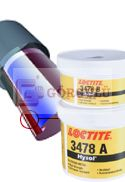 LOCTITE 3478 A&B 500 GR|High temperature Epoxy Loctite® Hysol® 3478 A&B, 500g Tub Kit
