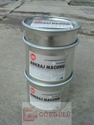 EPOKSİ ANKRAJ MACUNU 5 KG TAKIM|EMÜLZER ANCHORAGE PASTE Available as a 5 kg set of epoxy resin + hardener.
