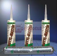ZWALUW BÜTİLEN MASTİK (İTHAL SOĞUK HAVA KANAL MASTİĞİ) 300 ML KARTUŞ - BEYAZ|Zwaluw Butylene-X 300 ml - White