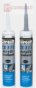 CERESİT CS111 AKRİLİK MASTİK 280 ML - SİYAH|CS 111 Acrylic Sealant Black 280 ml