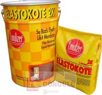 ELASTOKOTE SU BAZLI ÇİFT KOMPONENTLİ LİKİT MEMBRAN 2K 18+6 KG TAKIM |Elastokote 2K Available as a set (6 kg powder in a bag + 18 kg liquid component in a plastic pail)