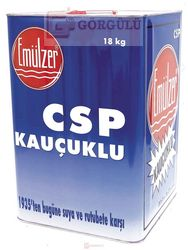 EMÜLZER CSP - KAUÇUK KATKILI BİTÜM SOLÜSYONU 18 KG TENEKE|Emulzer CSP 18 kg metallic case