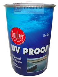EMÜLZER PLUS-UV PROOF UV DAYANIMLI LİKİT MEMBRAN 17 KG TENEKE|Emulzer Plus-UV Proof 18 kg metallic pail