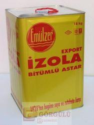İZOLA TECRİT - İZOLA BİTÜM EMİLSİYONU 18 KG TENEKE|Izola Insulation 18 kg metallic case
