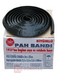 BİTÜMLÜ PAH BANDI (5x5 M RULO) - 25 M KOLİ|Bituminous Fillet 5 meters of polyethylene covered roll. 5 rolls per package