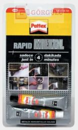 RAPID METAL YAPIŞTIRICI ( 2 x 11 ML TÜP ) 31 GR|Rapid Metal 31 gr