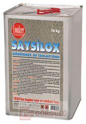 SAYSİLOX GÖRÜNMEZ SU İZOLASYONU 16 KG TENEKE|Saysilox 16 kg metallic case