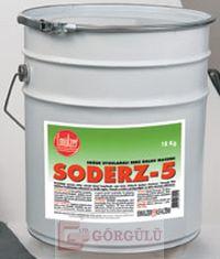 SODERZ-5 SOĞUK UYGULAMALI DERZ DOLGU MACUNU 18 KG KOVA|Soderz-5 17 kg tin can