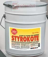 STYROKOTE ISI YALITIMLI LİKİT MEMBRAN 11 KG KOVA|Styrokote 11 kg plastic pail