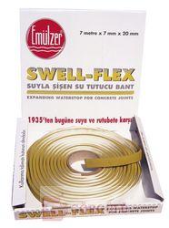 SWELL-FLEX ŞİŞEN SU TUTUCU BANT 7 M KOLİ|SWELL-FLEX EXPANDING WATERSTOP 7 meter roll in cardboard box